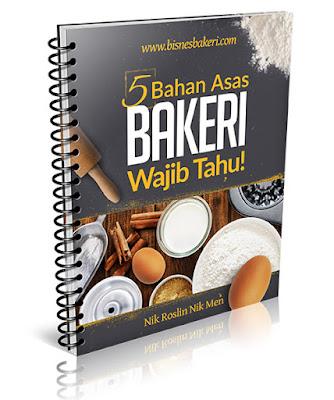 5 Bahan Asas Bakeri