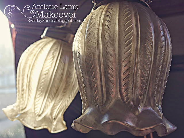 Antique Lamp Makeover