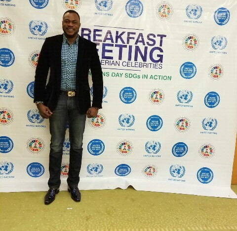 Odunlade Adekola at breakfast meeting