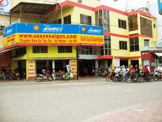 Trung tâm bảo dưỡng - sửa chữa xe máy Yamaha tại tphcm