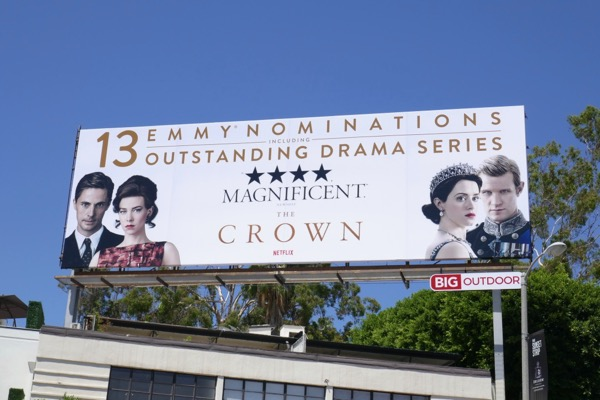 Crown 13 Emmy nominations season 2 billboard