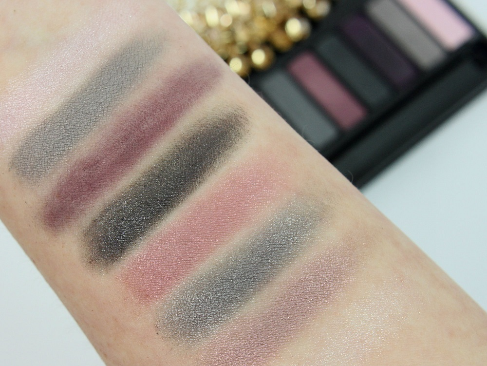 palette, look, make-up, review, glamour, lidschatten, swatches, Little Black Dress, high end, eyeshadow, ARTISTRY, abend make-up, Eyeshadow Palette, beautytesterin, tragebilder