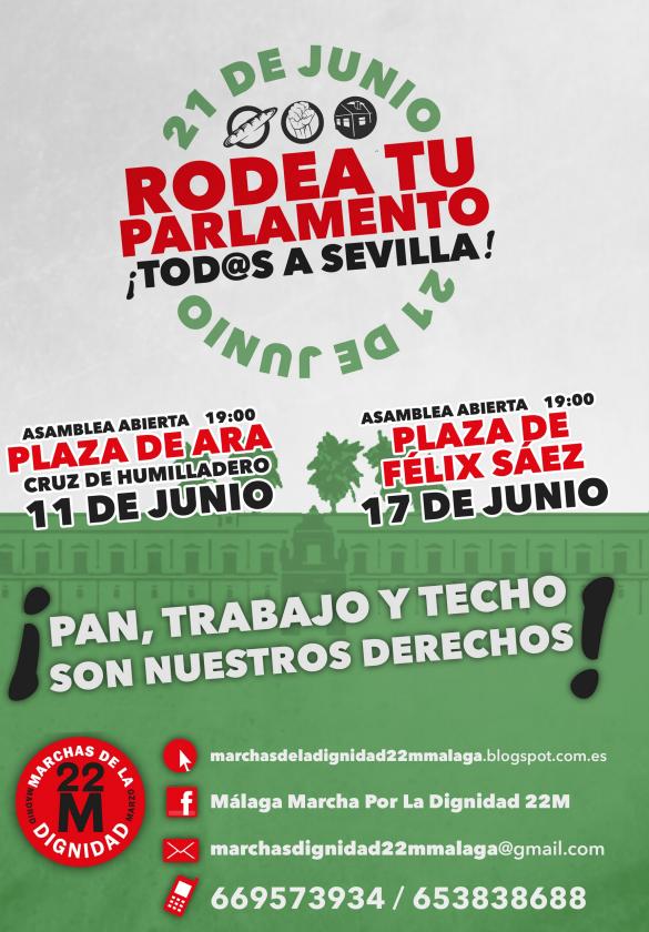 21j 1 - Marchas por la Dignidad: Rodea tu Parlamento