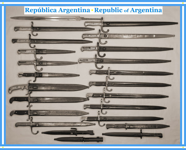 Bayonetas Antiguas y Modernas - Ancient and Modern Bayonets