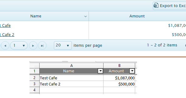 Kendo UI Grid MVVM and Custom Export to Excel functionality