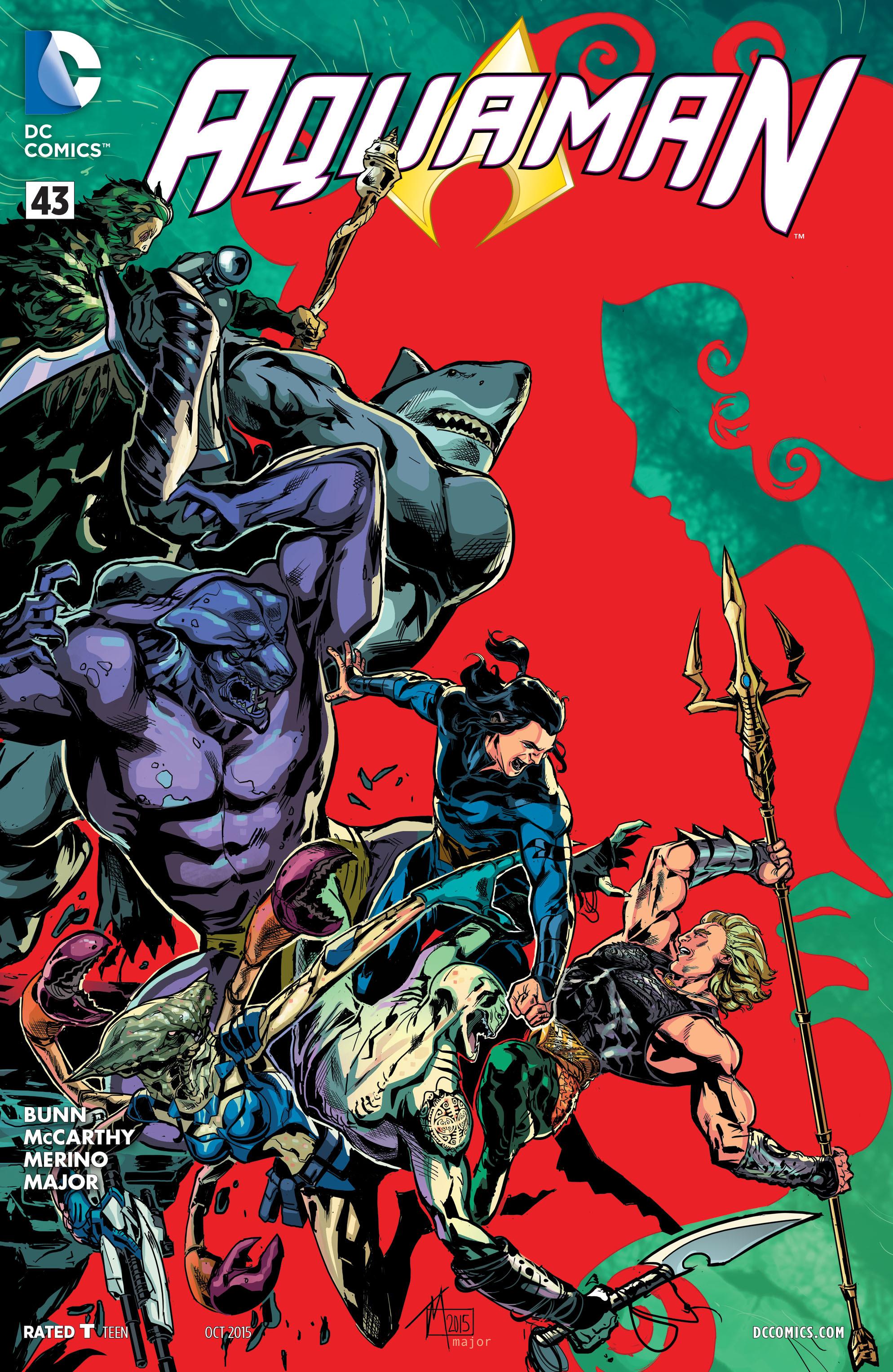 Read online Aquaman (2011) comic -  Issue #43 - 1