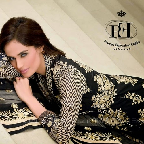 fbb18bc478 Gul Ahmed Premium Embroidered Chiffon Collection 2015 | Gul Ahmed Summer  Magazine 2015 | She-Styles | Pakistani Designer Dresses - Fashion Weeks -  Lawn ...