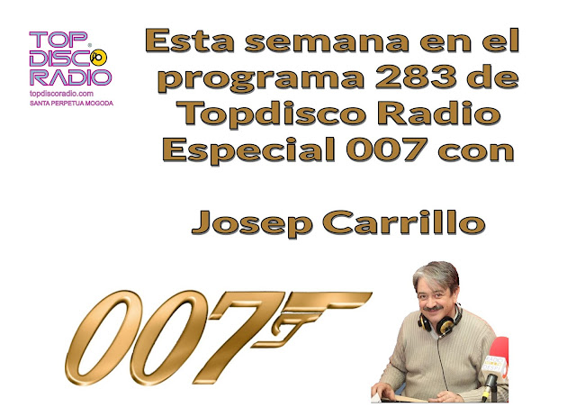 Especial James Bond 007 en Funkytown by Josep Carrillo