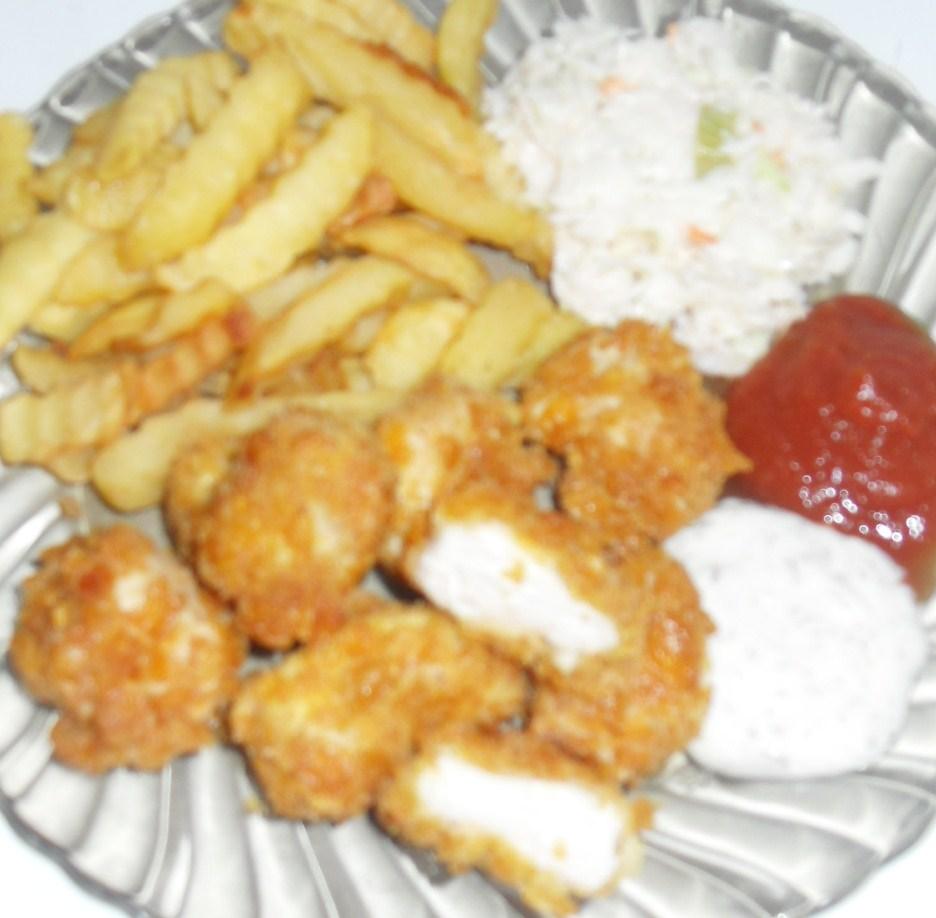 Kuchnia Natki: Nuggetsy (kurczak Jak Z KFC