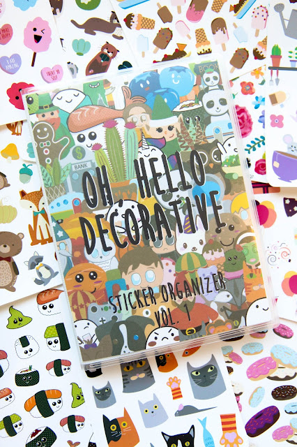 Oh, Hello's First Decorative Sticker Organizer