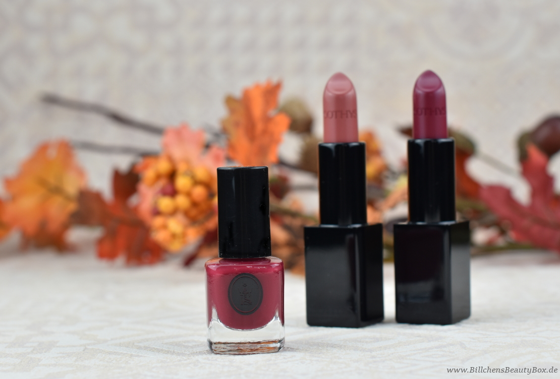 SOTHYS Make-Up Kollektion Herbst Nagellack - Lippenstift