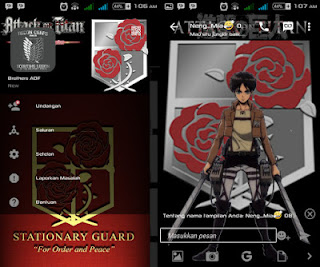 Bbm Mod Attack On Titan Pasukan Penjaga ( The Stationary Troops ) V.2.12.0.11 Apk