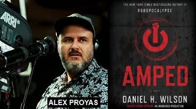 Film Amped adapté d'un roman écrit par Daniel H. Wilson