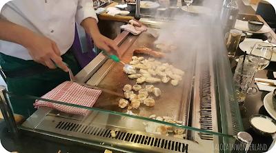 Dining in Liverpool - Sapporo Teppanyaki fine dining Japanese cuisine dinner show review