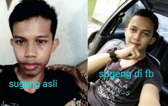 Anah Syakila, Cewek Cantik Asal Banten Yang Tertipu Akun Palsu Pria Tulungagung