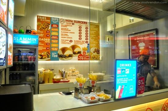 Slammin Mini Burgers + Fries + Dips at Trinoma Mall