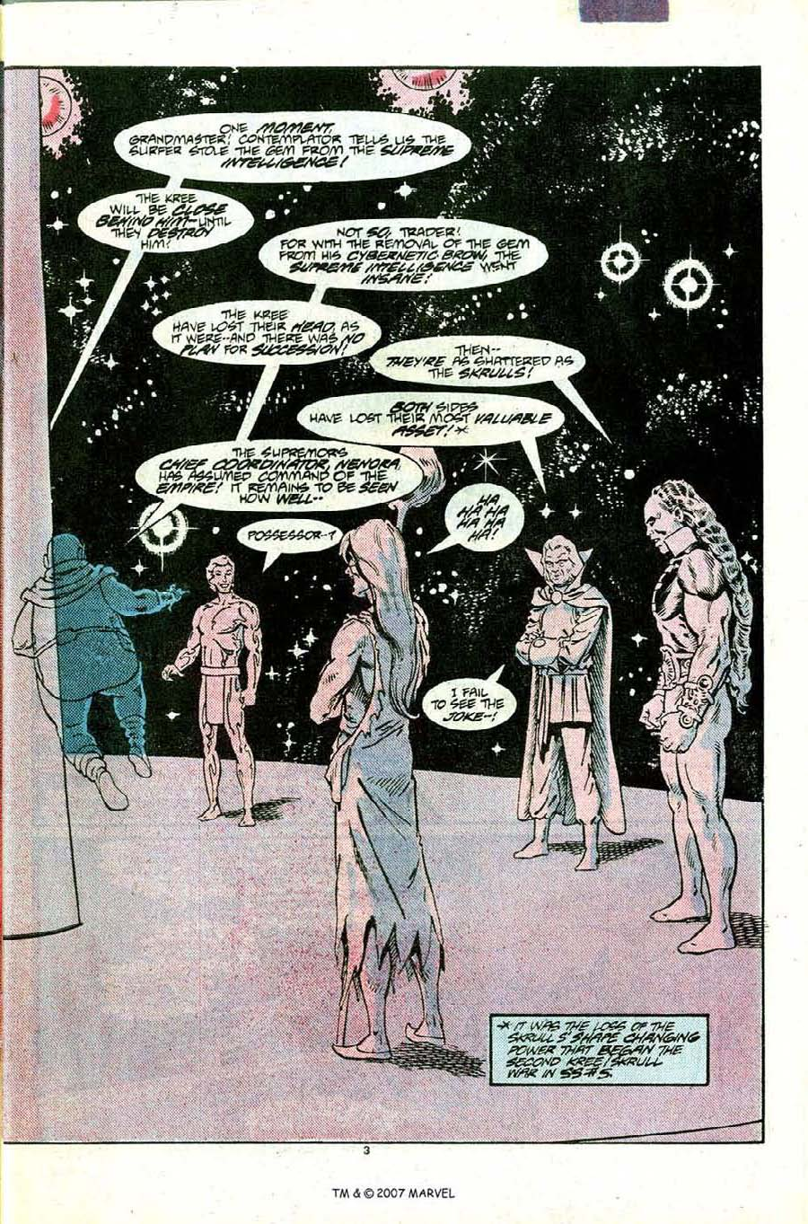 Read online Silver Surfer (1987) comic -  Issue #9 - 5