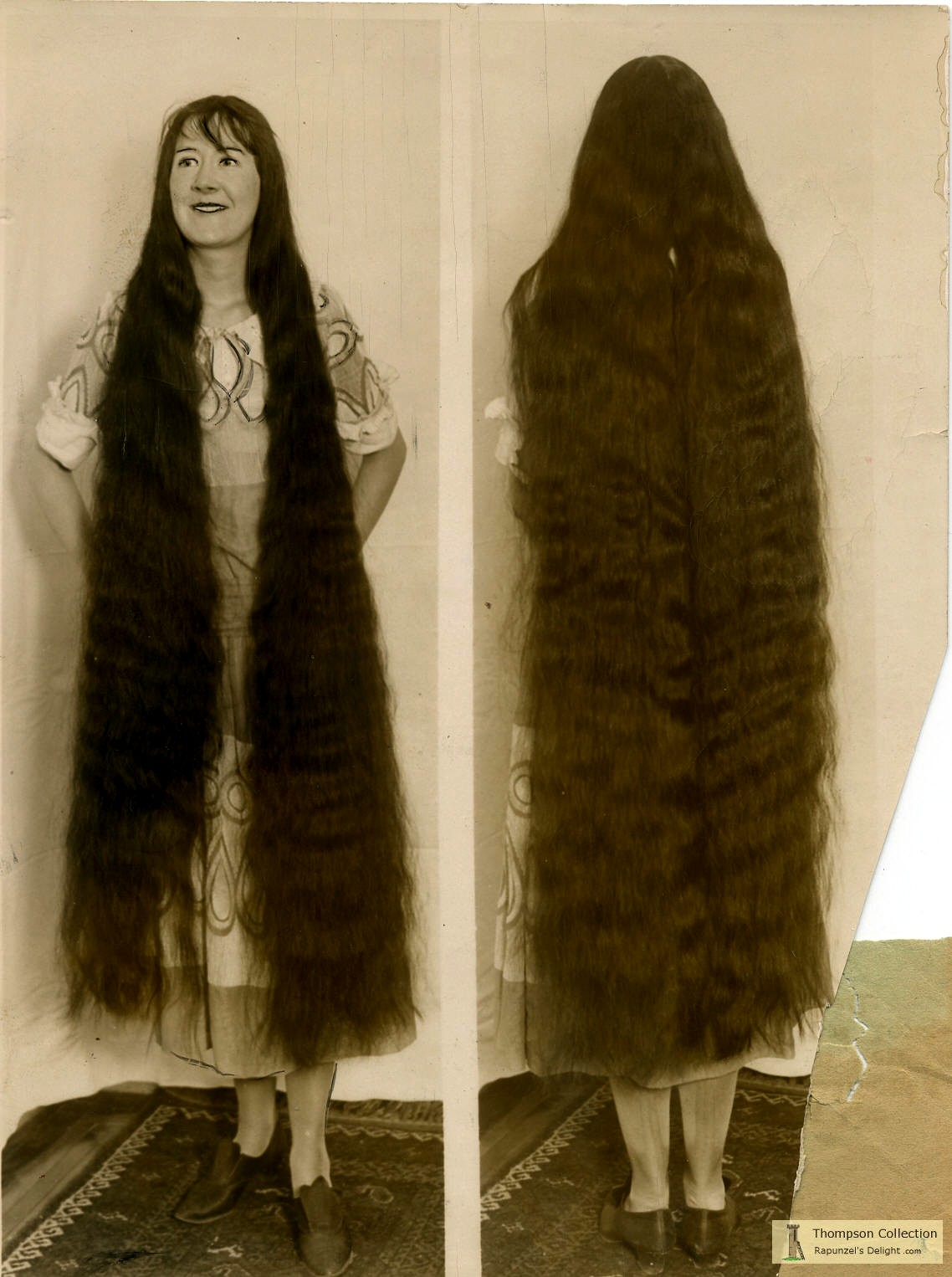 Portraits Of Longhaired Women In The Past Vintage Everyday
