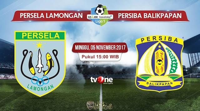 Prediksi Bola : Persela Lamongan Vs Persiba Balikpapan , Minggu 05 November 2017 Pukul 15.00 WIB @ TVONE