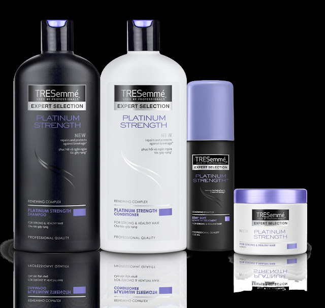 a photo of TRESemme Platinum Strength