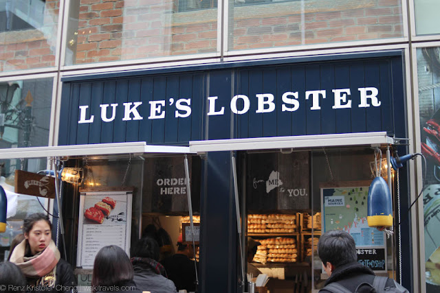 Luke's Lobster in Shibuya, Japan