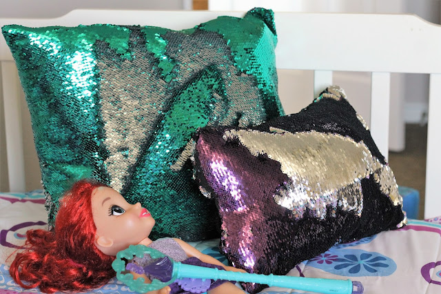 how to make a mermaid pillow