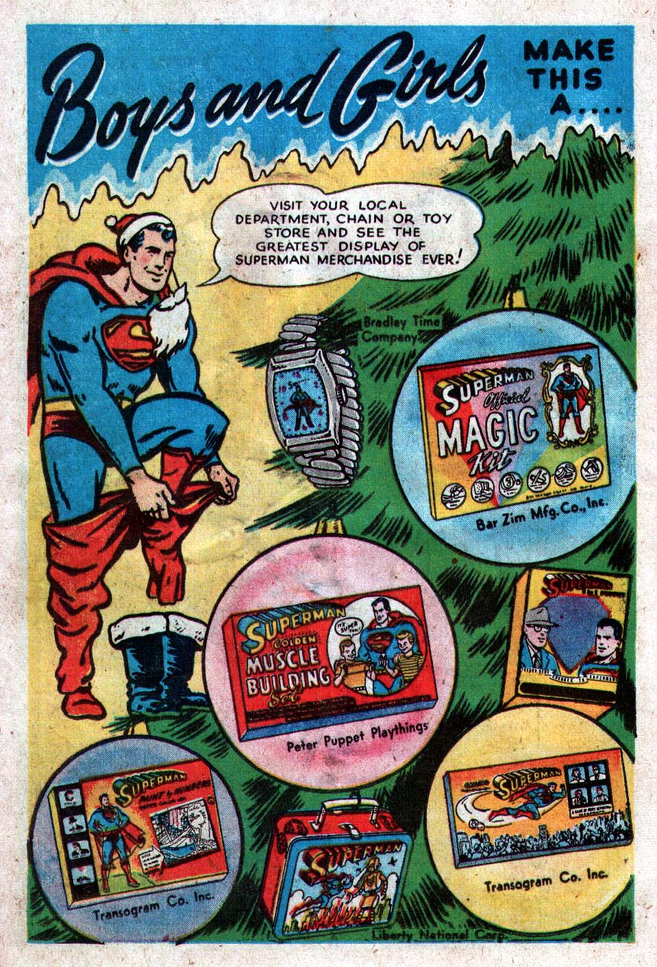 Read online Action Comics (1938) comic -  Issue #212 - 16