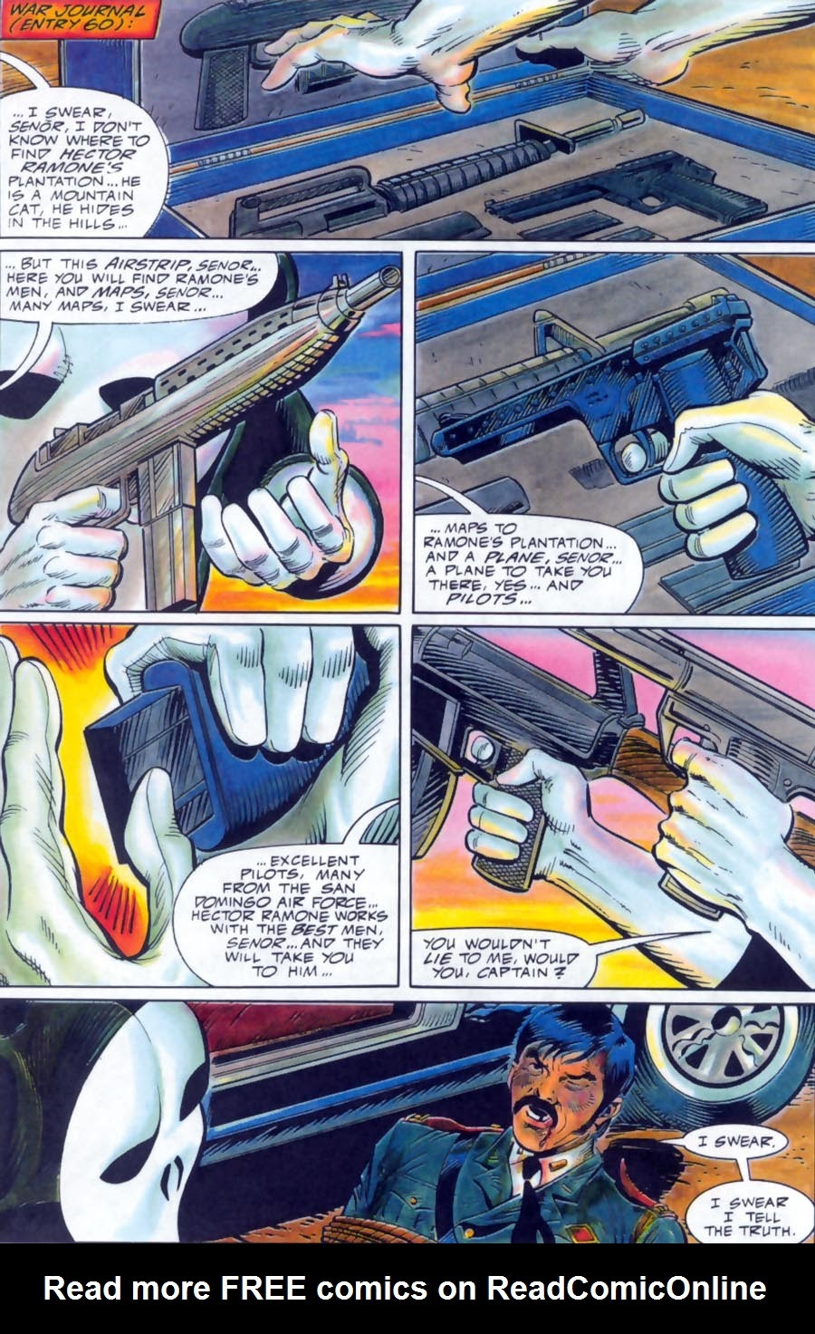 Read online Punisher Bloodlines comic -  Issue # Full - 27