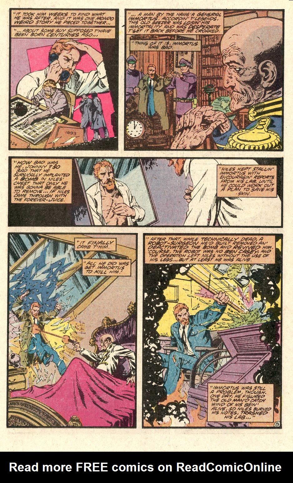 Read online Secret Origins (1986) comic -  Issue # _Annual 1 - 9