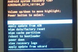 Cara Flash Lenovo a2020a40