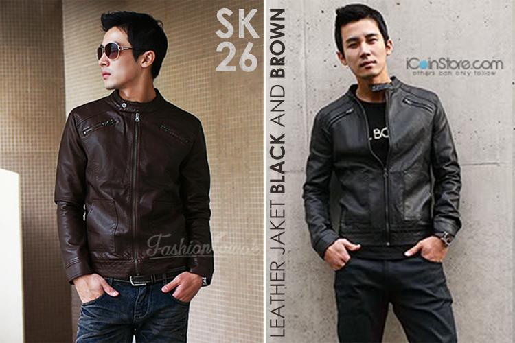 jaket kulit leathe jacket fashion cowok fashioncowok