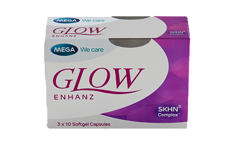 Glow Enhanz Suplemen Pencerah Kulit Mega We care