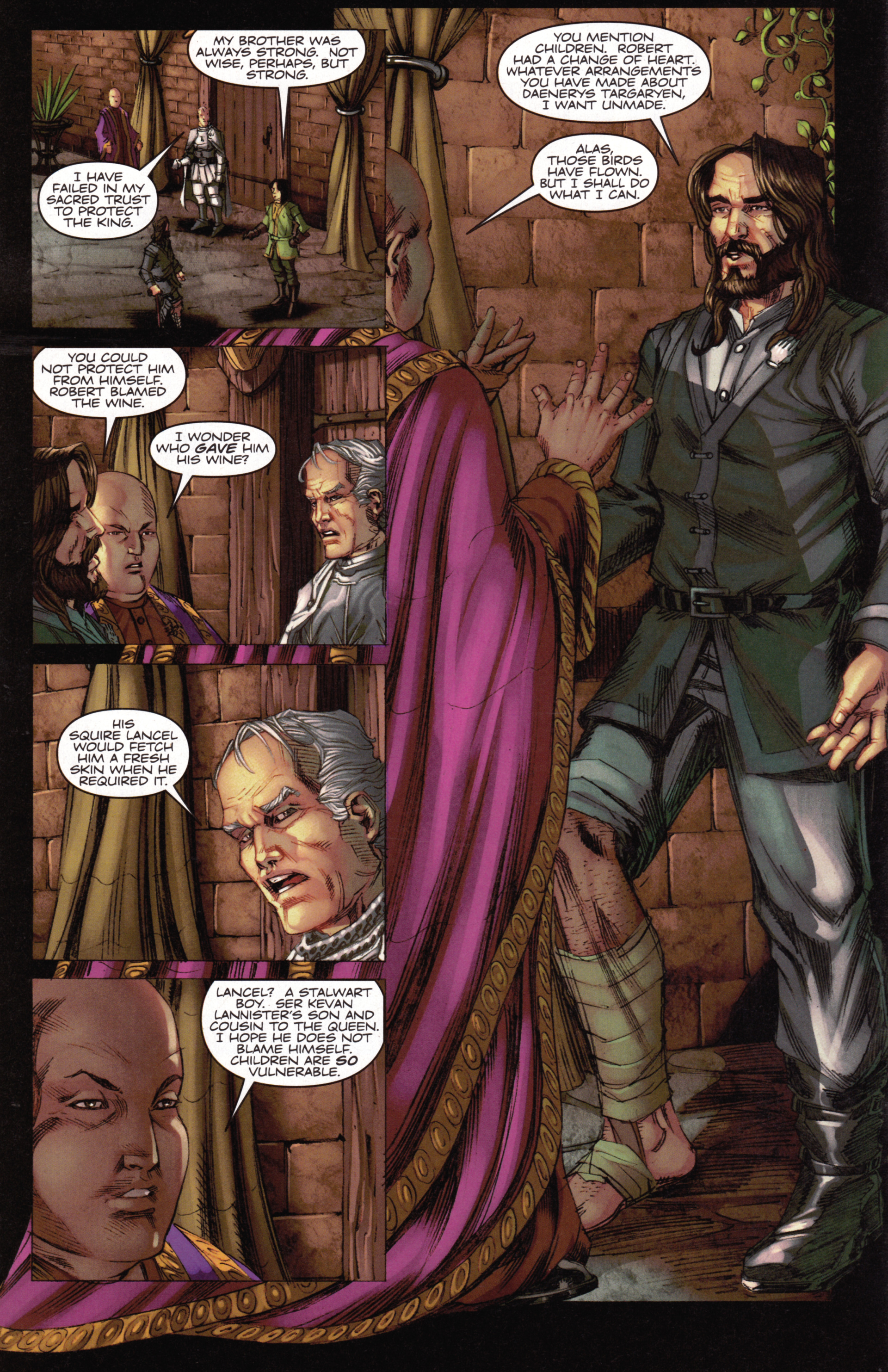 Read online A Game Of Thrones comic -  Issue #15 - 16