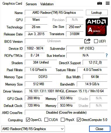 benchmark asus x555qg amd radeon r5