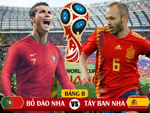 Trực tiếp Bồ Đào Nha vs Tây Ban Nha
