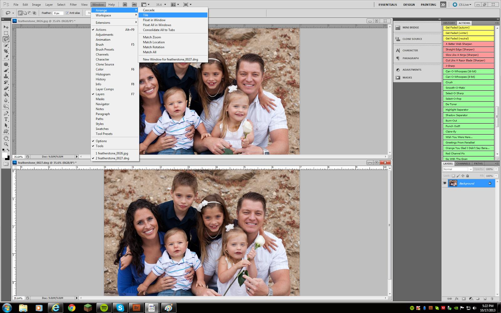 Photoshop Head Swap Tutorial