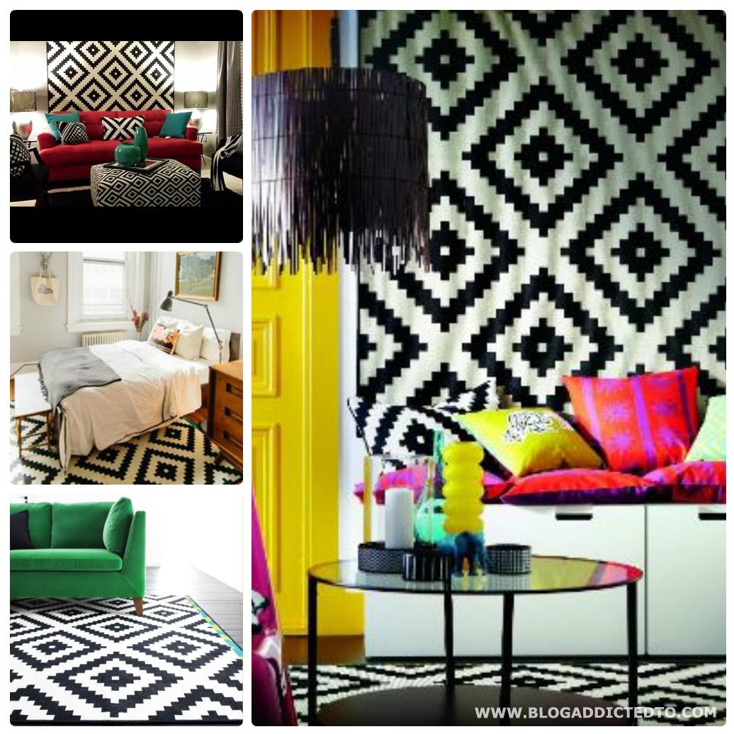 home 4 20 ideias de decora o utilizando o tapete. Black Bedroom Furniture Sets. Home Design Ideas