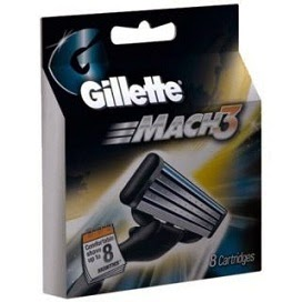 Flat 49% Off onGillette Mach3 Blades-8 Cartridges worth Rs.649 for Rs.333 Only @ Shopclues (Free Home Delivery)