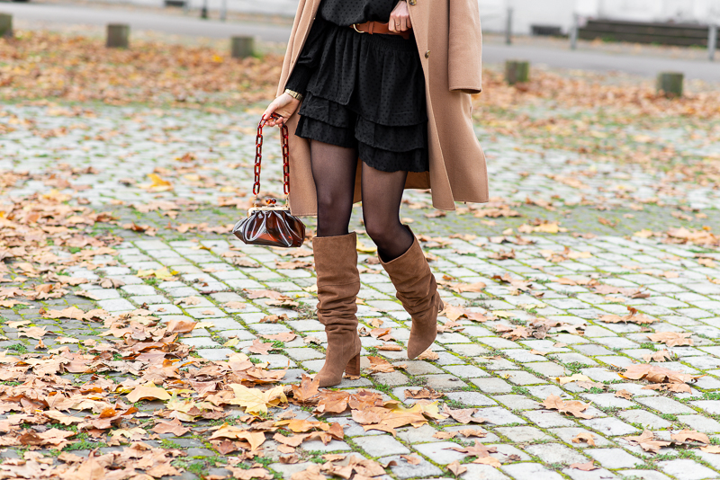 stradivarius brown boots