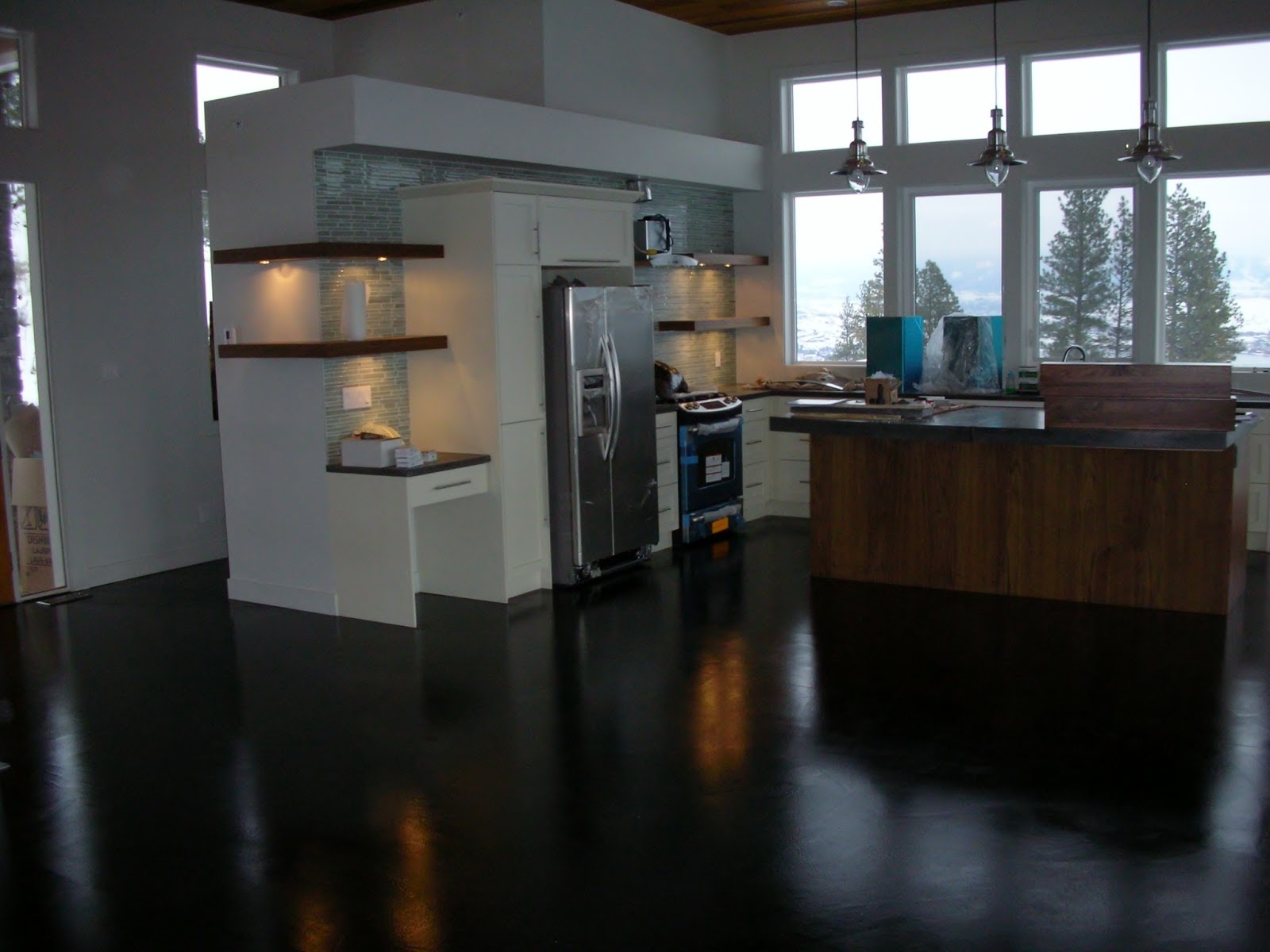 considering concrete floors in kitchen concrete kitchen floor Considering Concrete Floors in the Kitchen Bathroom or Anywhere in your Home We address top questions concerns about concrete floors