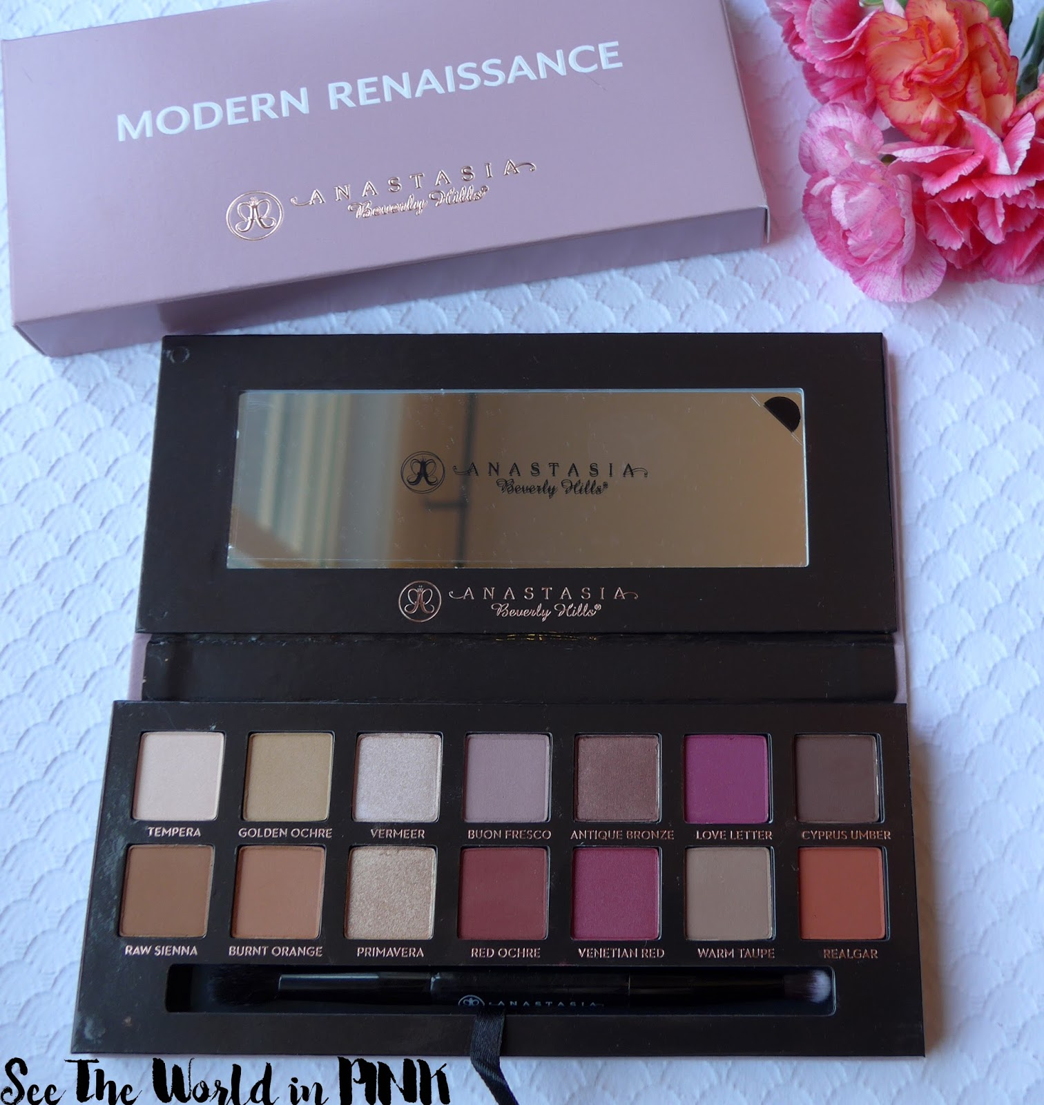 Anastasia Beverly Hills Modern Renaissance Palette - Swatches, Makeup Looks, and Review!