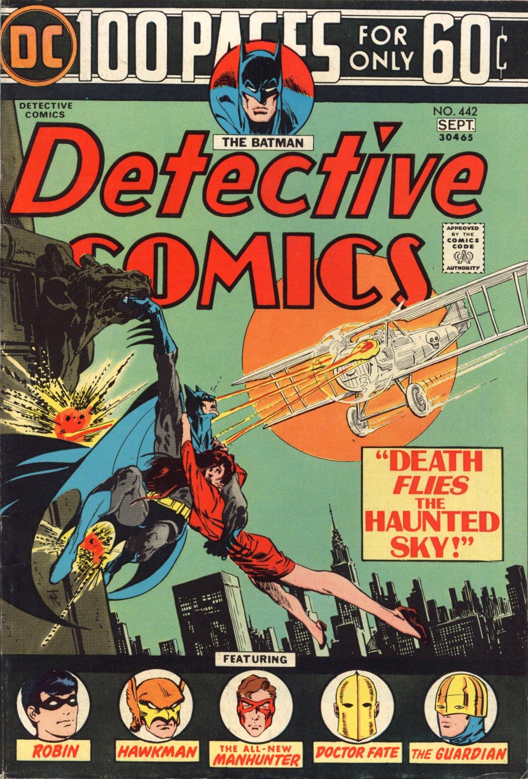 Detective Comics (1937) 442 Page 1