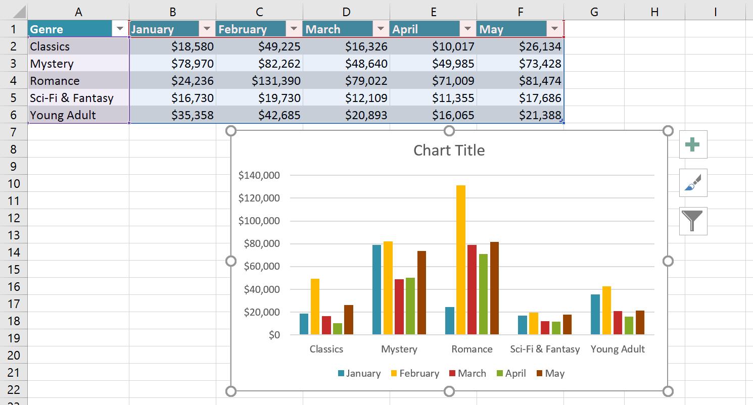 Color Excel Worksheet