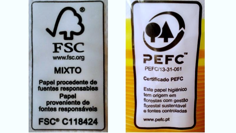 Certificação PEFC e FSC