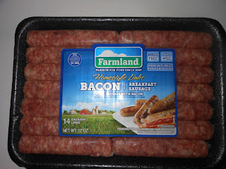 Homestyle Bacon Sausage Links from Farmland Foods