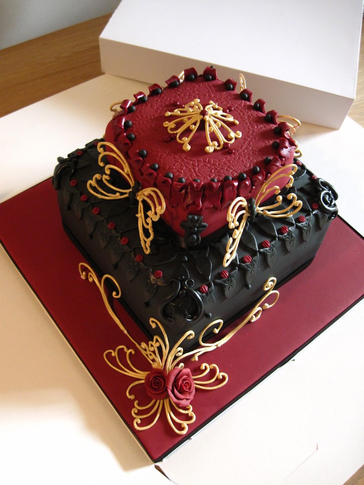 Cakes By Lyndsey Luxury 60th Birthday Cake
