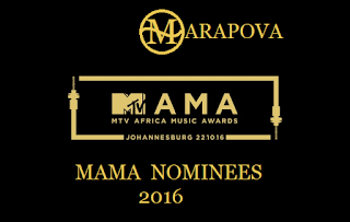 2016 MTV Base Africa Music Awards-MAMA Nominees