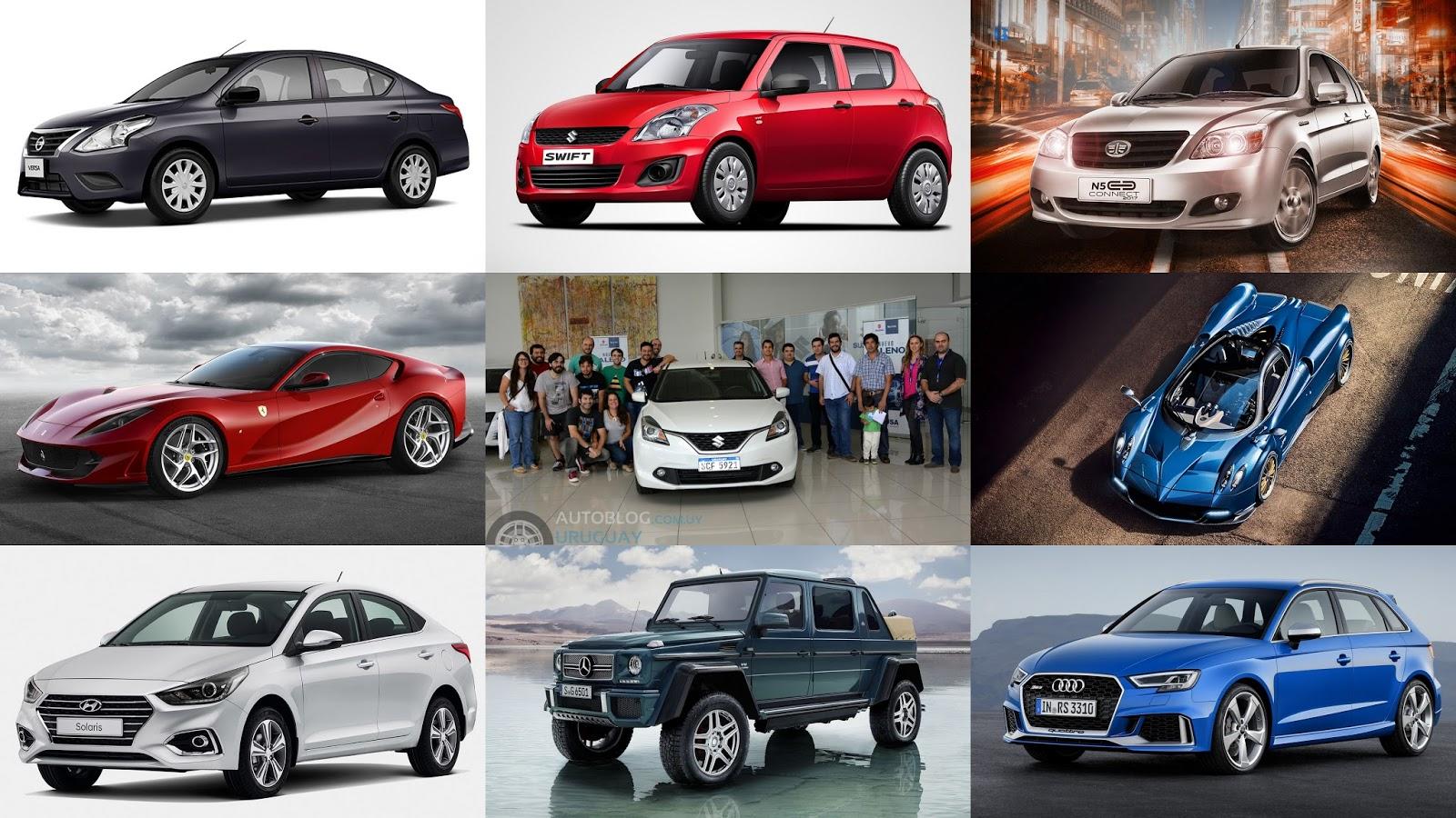 Resumen semanal: Versa Drive, Swift GO, Huayra Roadster, 812 ...