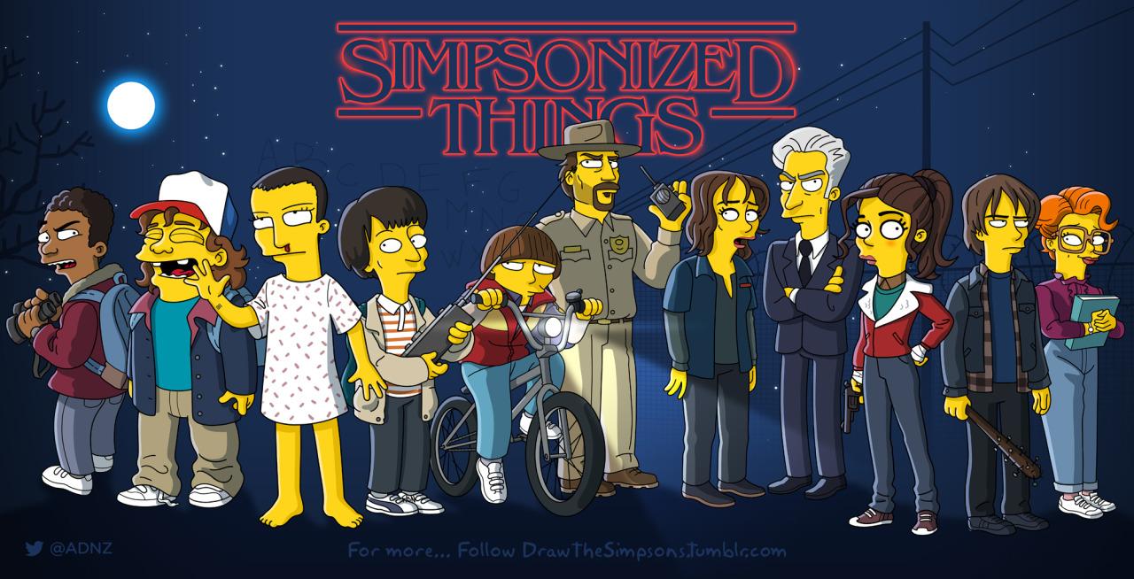 Los Simpson se cuelan en las series de Televisión