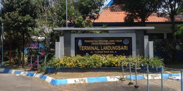 Tips Pesan dan Naik Gojek - Grab di Terminal Landungsari Malang yang Aman